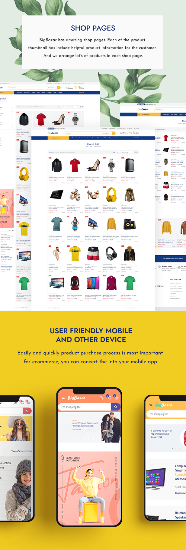 Multipurpose eCommerce Template